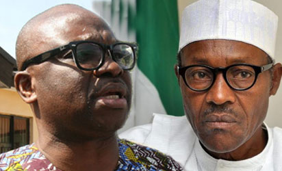 Fayose hails US govt, UK Telegraph writes about Buhari's witch-chase of restriction, calls for examination