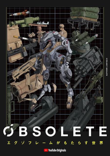Obsolete es el nuevo anime CGI de Gen Urobuchi