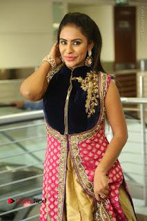 Telugu Actress Sri Reddy Mallidi Stills in White Beautiful Dress at Marriage Needs Bridal Fashion Week 2017 Logo Launch  0065.JPG