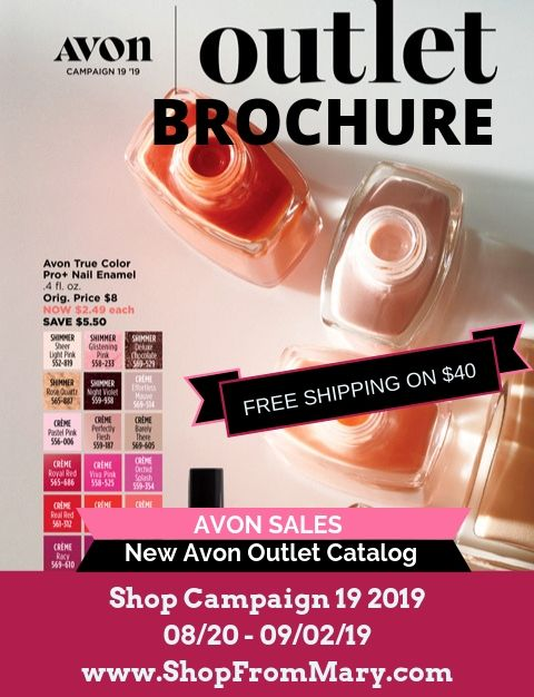 Avon Outlet Clearance Sales Campaign 19 2019