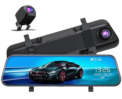 VS Life MA 10 FHD 2.5K Mirror Dash Cam for Car
