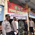 Pelaksanaan Peninjauan Aktivitas di Posko PPKM Mikro Pasar Ciamis Oleh Tim Monitoring Polsek Ciamis