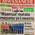 HAYA HAPA MAGAZETI YA LEO JUMAMOSI JANUARI 13,2018 -NDANI NA NJE YA TANZANIA