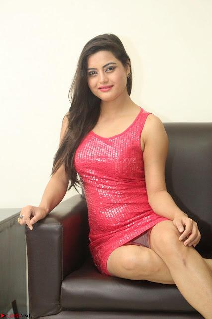 Shipra Gaur in Pink Short Tight Dress ~  Exclusive Poshoot 01.JPG