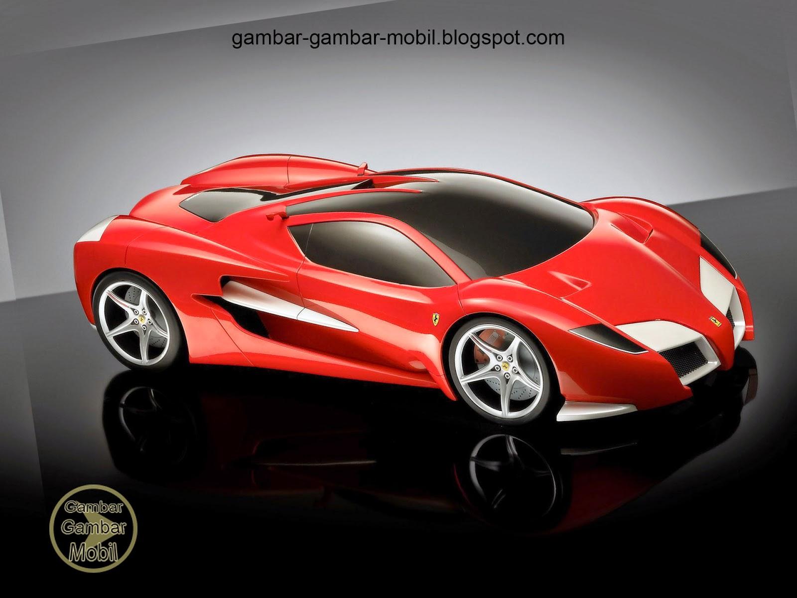 Gambar mobil ferrari  Gambar Gambar Mobil