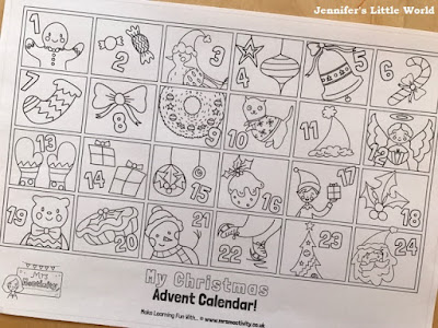Mrs Mactivity free printable Christmas resources