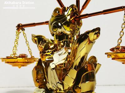 Review del Saint Cloth Myth EX Libra Shiryu Gold Cloth de Saint Seiya - Tamashii Nations