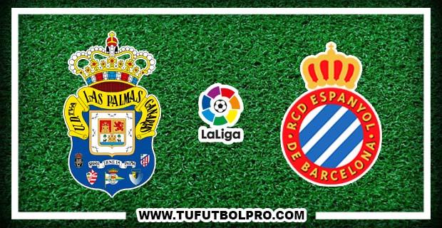 Ver Las Palmas vs Espanyol EN VIVO Gratis Por Internet Hoy 14 de Octubre 2016