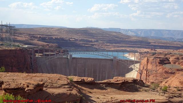 Glen Canyon Dam Overlook Arizona