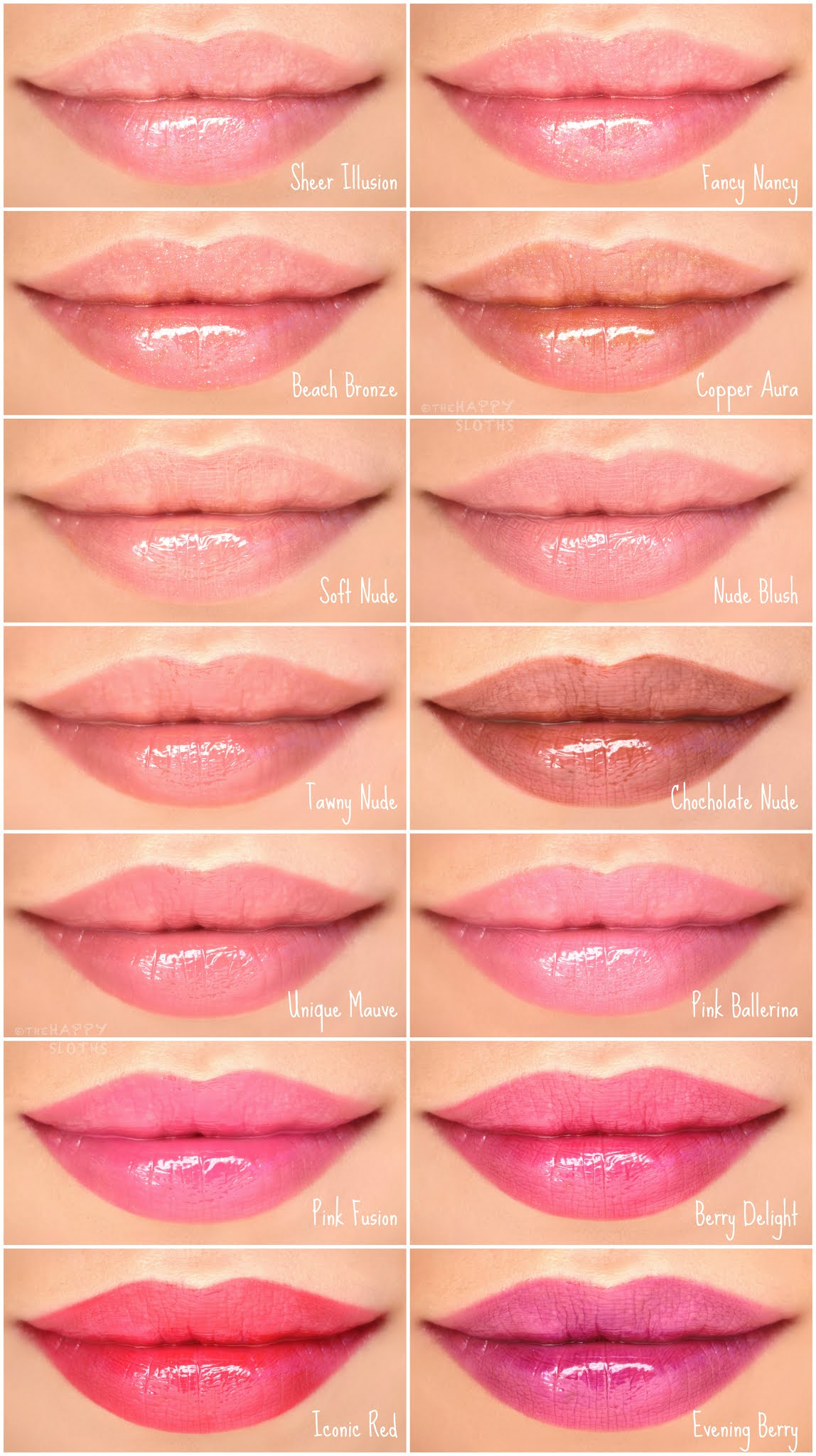 Mary Kay | Unlimited Lip Gloss: Review and Swatches