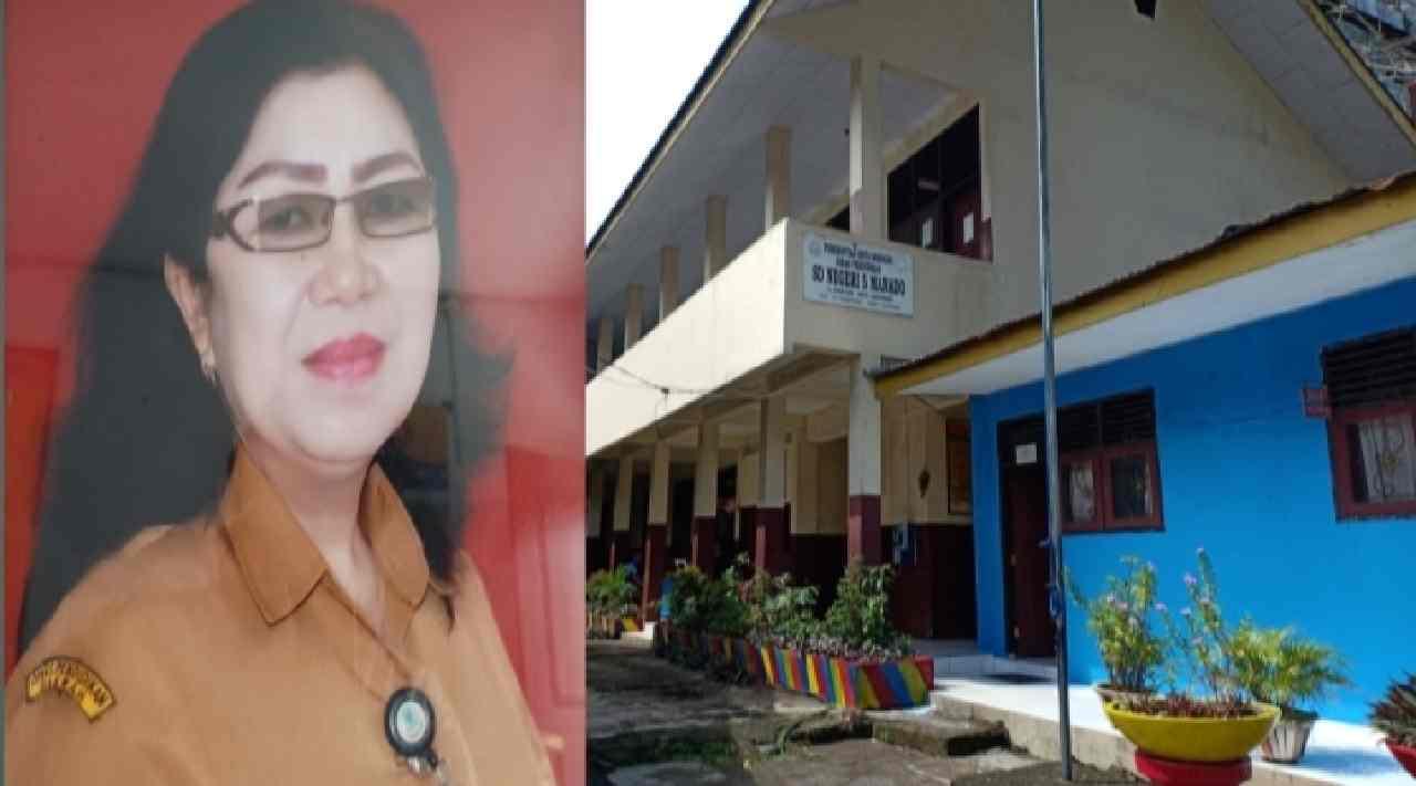 SDN 05 Kota Manado Baru Sedikit Mendaftar, Altje: Tetap Semangat Selalu Berikan Sosialisasi ke Medsos
