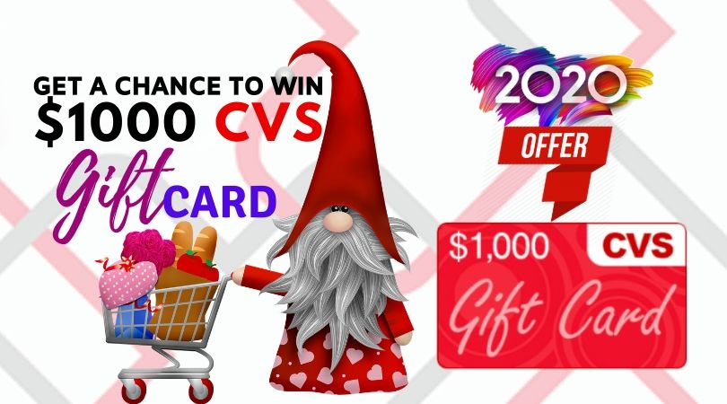 CVS Giftcard Are The New Get $1000 CVS Gift Cards.