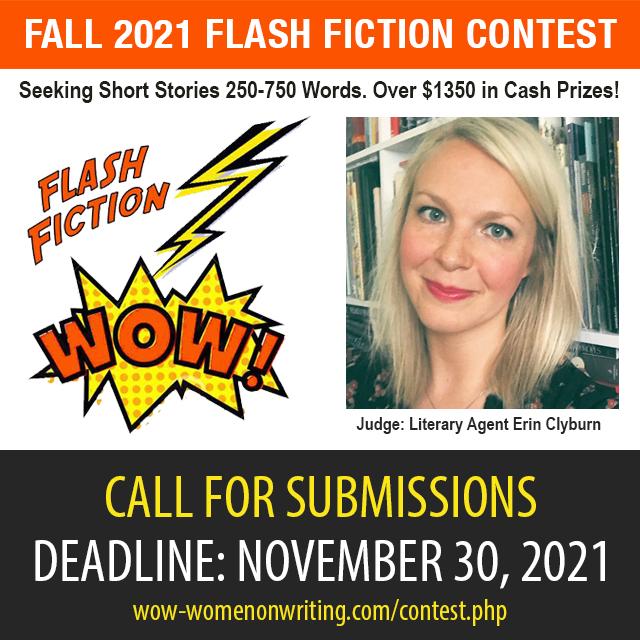 Fall 2021 Flash Fiction Contest - Deadline November 30, 2021