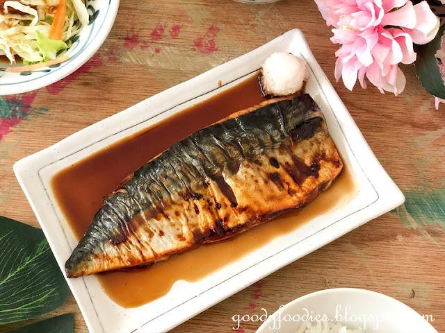Saba teriyaki recipe