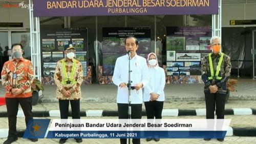 Presiden: Bandara Soedirman Dorong Pertumbuhan Ekonomi Jateng Bagian Selatan