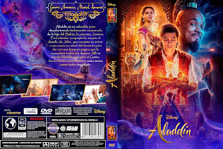 ALADDIN 2019[COVER DVD+BLU-RAY]