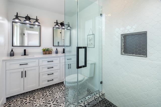 bathroom remodel ideas with walk in shower