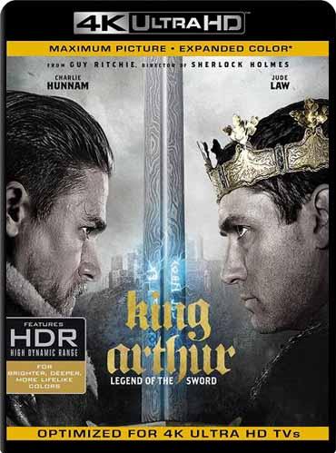 Rey Arturo: La Leyenda de Excalibur (2017) 2160p 4k UHD HDRLatino [GoogleDrive]
