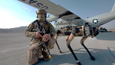 V60 Q-UGV Robot Dogs US military