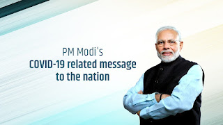 PM Modi related message to the nationa,MOde message to the nation for covid 19, a new message from modi to the nation about covid 19,