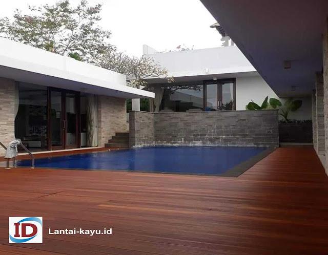 lantai outdoor kayu