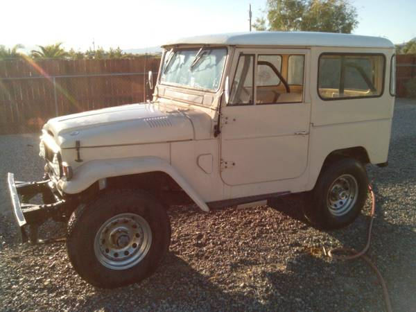 for sale 1965 toyota fj40 in fair condition 4x4 cars. Black Bedroom Furniture Sets. Home Design Ideas