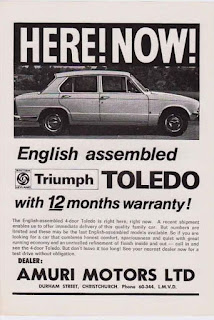Amuri Motors Ltd Triumph Toldeo advert