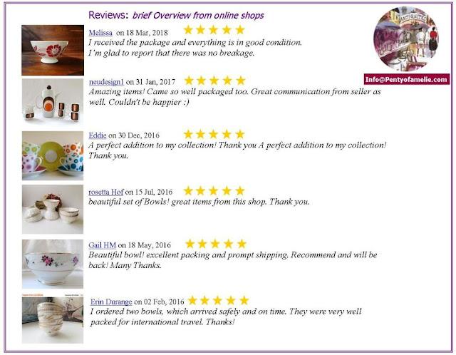 Cafe au lait Bowls brief overview of Reviews left online shops since 2013