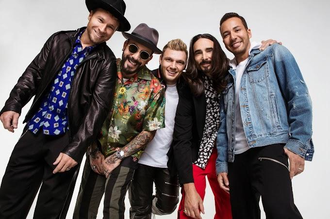 "Backstreet Boys anuncia datas da ""The DNA World Tour"" no Brasil"