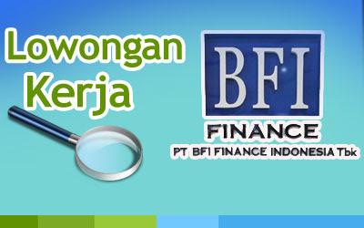 Lowongan kerja BFI Finance untuk penempatan Cabang Grobogan untuk posisi dan kualifikasi sebagai berikut :