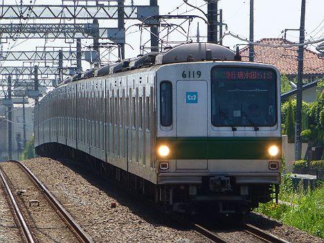 【小田急乗入消滅!】メトロ6000系の多摩急行 唐木田行き(2017.5運行終了)
