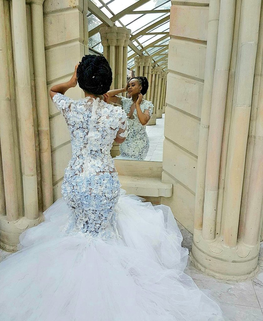 Ugly Wedding: 10 Pics! Inside Bontle Modiselle And Priddy Ugly's White