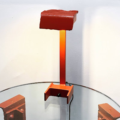 Table Lamp crafted from Golden Gate Bridge Steel