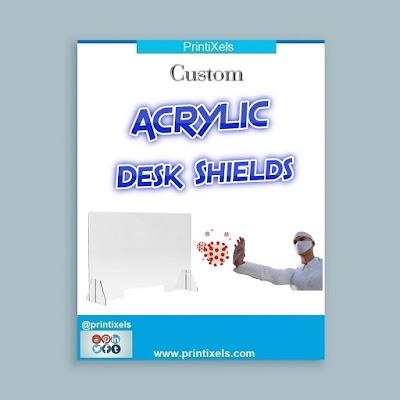 Custom Acrylic Desk Shields Philippines