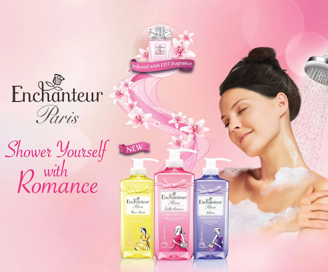 Gel Mandian Wangian ENCHANTEUR Paris baharu ~ Belaian romantis mandianmu