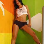 Andrea Rincon, Selena Spice Galeria 32 : Blusa Blanca y Cachetero Negro Foto 52