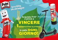 Con Pritt Colle o Correttori vinci ogni giorno 1 Monopattino elettrico Vivo w-scooter S2 Max