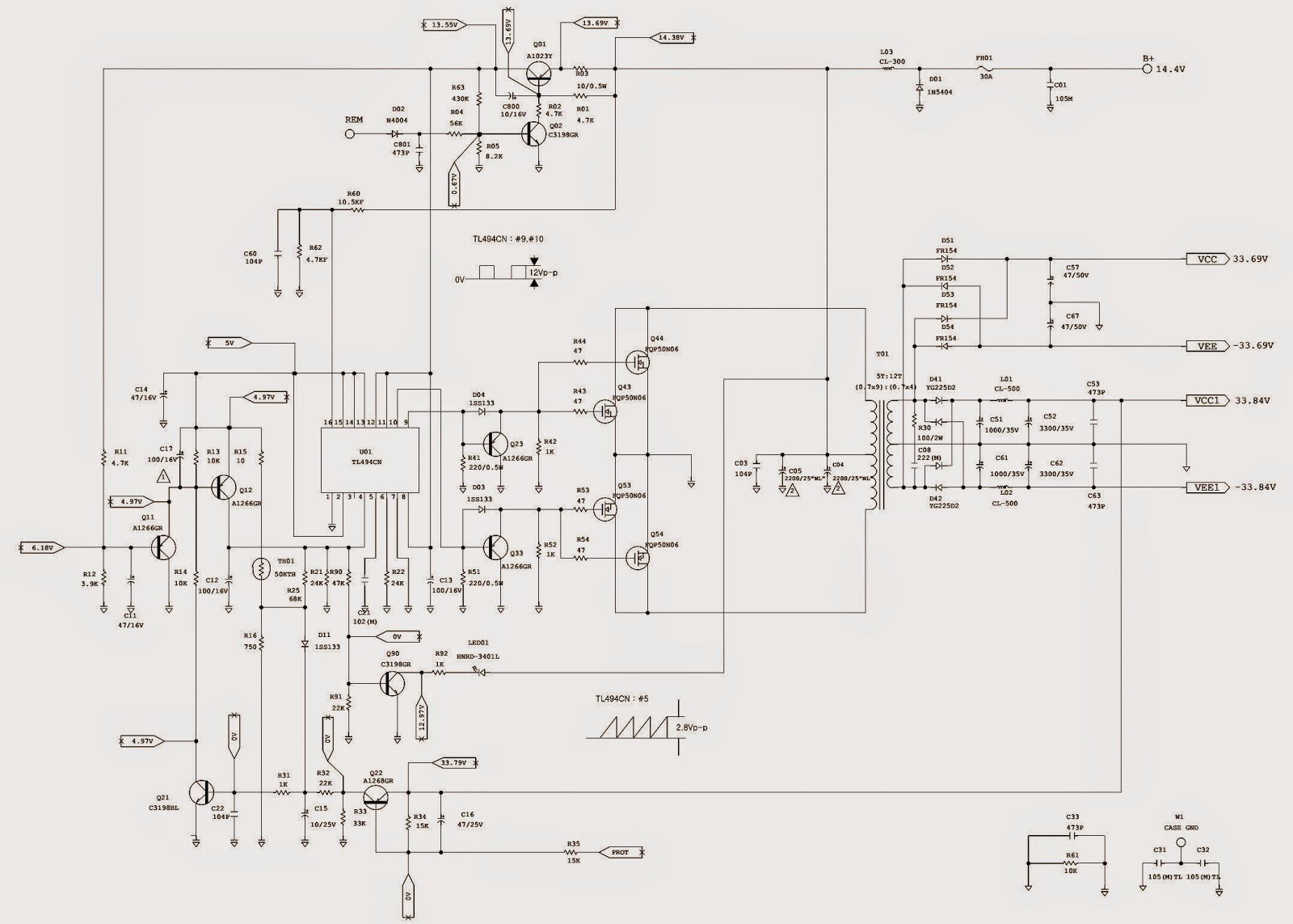 5 Channel Wiring Diagram