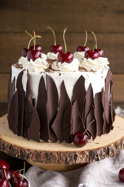 The Most Amazing Chocolate Black Forest Cake Ever