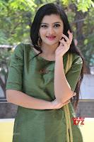 Akshitha cute beauty in Green Salwar at Satya Gang Movie Audio Success meet ~  Exclusive Galleries 010.jpg