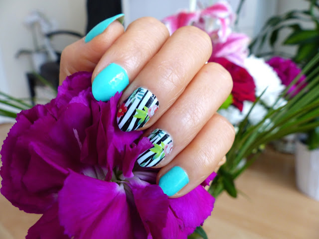 Green berry + kwiatowe wzory