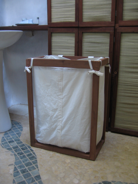 Journey In The Woods New Home Made Laundry Basket