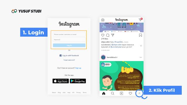 Login - Cara Menonaktifkan Akun Instagram Sementara Terbaru