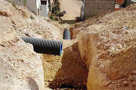 بطء أشغال الصرف الصحي يُثير استياءً بأورير