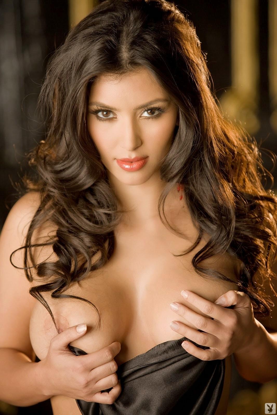 De Otros Mundos Kim Kardashian Desnuda En Playboy
