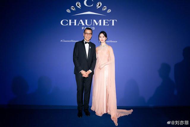 crystal liu yifei Chaumet Brand Ambassador