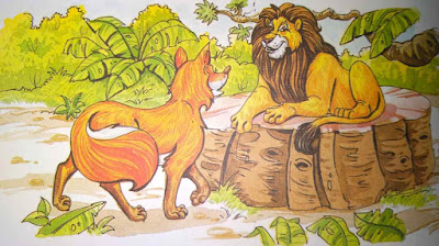 शेर का इलाज Moral Stories In Hindi For Class 8