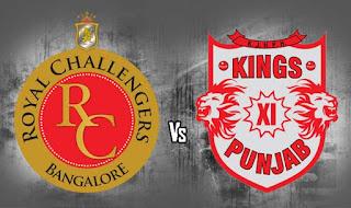 RCB vs KXIP