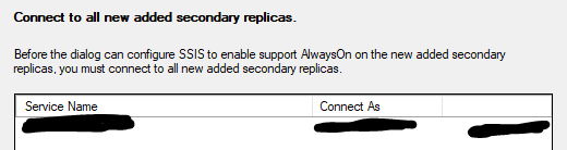 Enable Support for Always On - Connecting secondary replicas