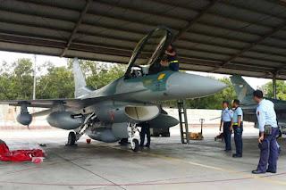 Pesawat F-16C/D Milik TNI AU